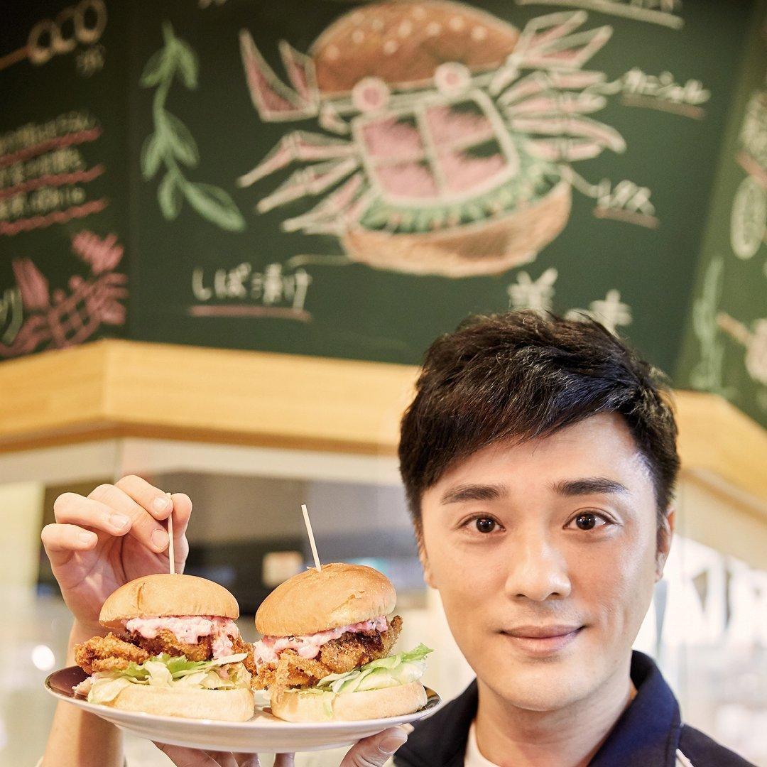 黑門市場 串誠軟殼蟹漢堡