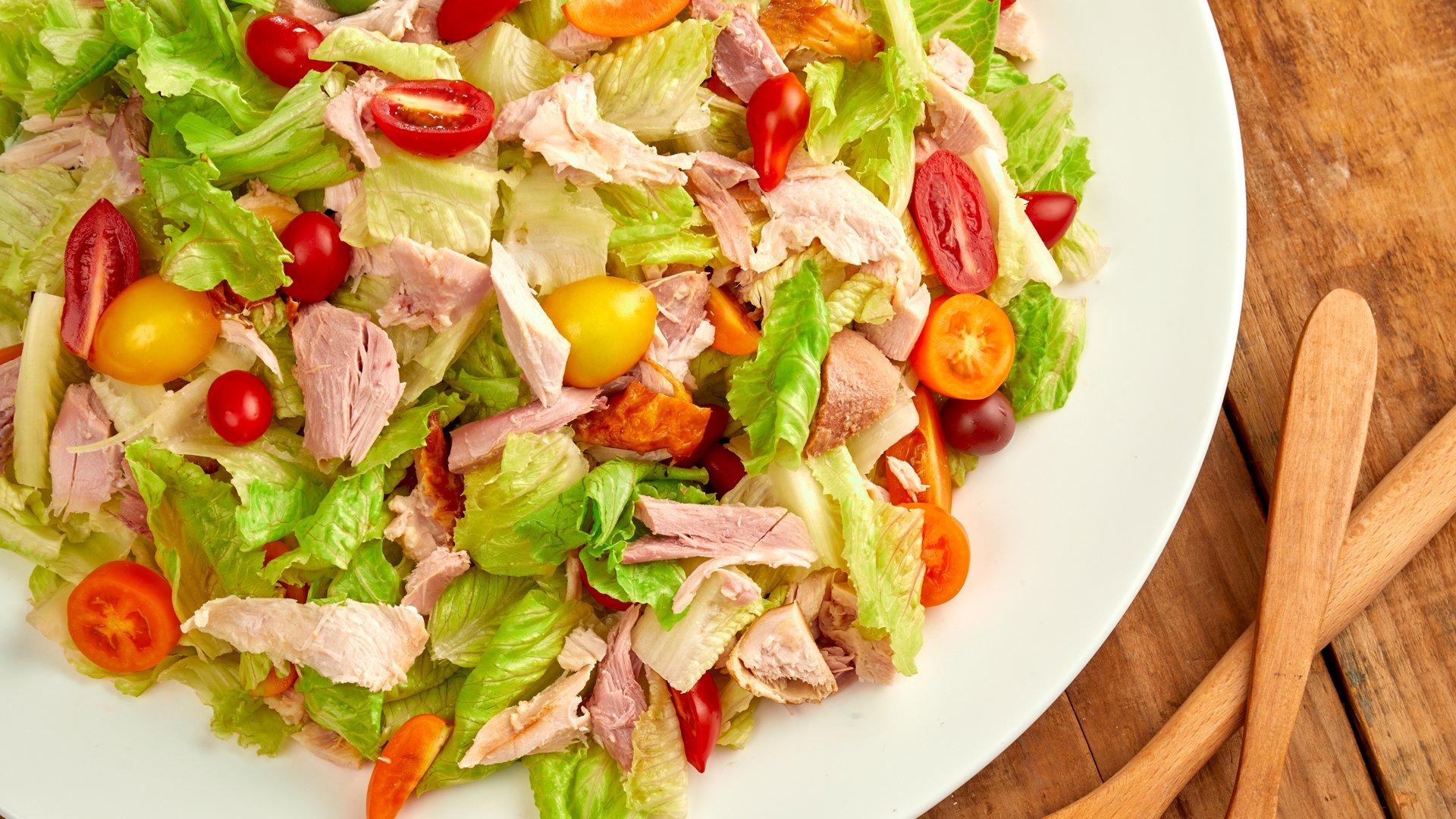 油醋火雞肉生菜沙拉