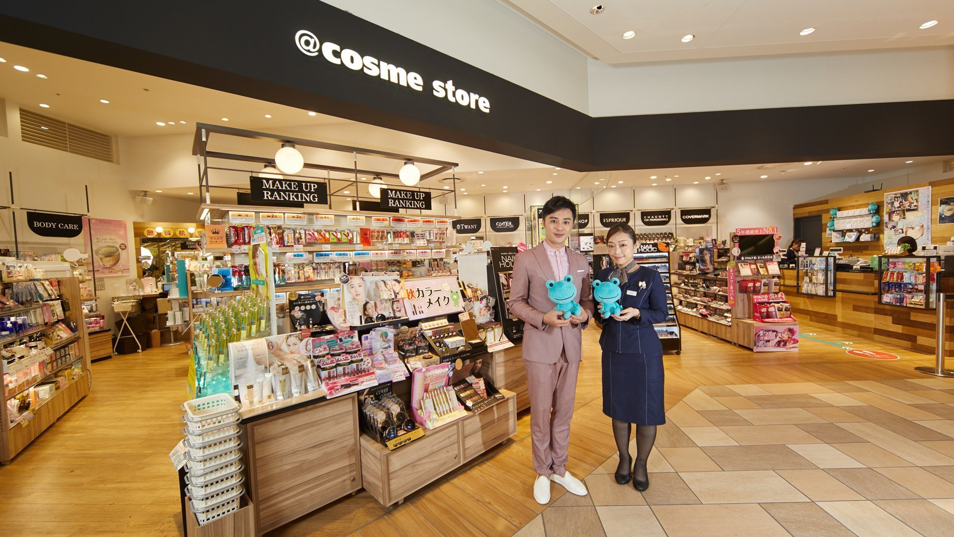 @cosme store、Sam 老師